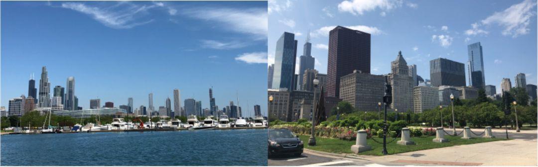 シカゴ市の風景